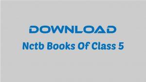 Nctb Books Of Class 5
