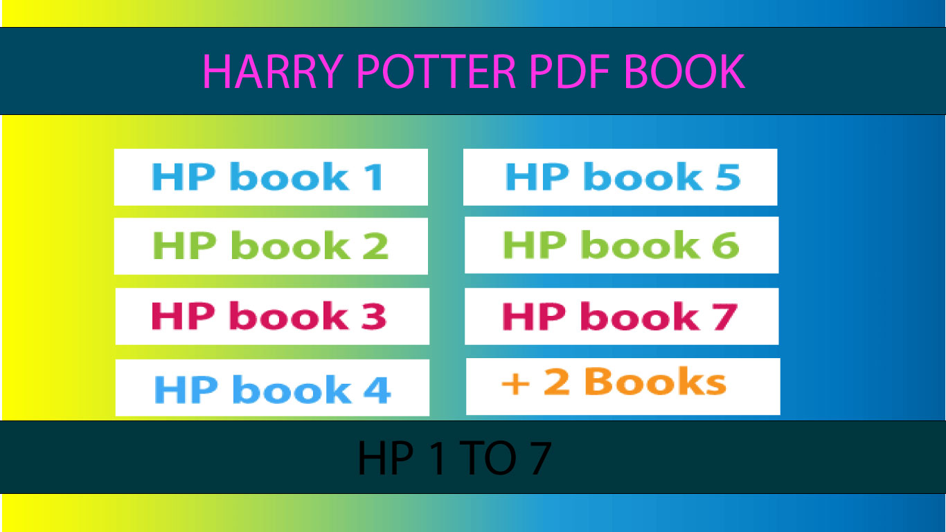 Download Complete Harry Potter Series by JK Rowling (PDF)